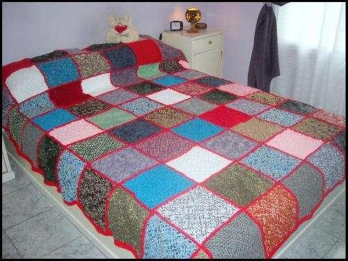 Cubrecama en patchwork (en telar!) en Buenos Aires - Ropa y calzado ...