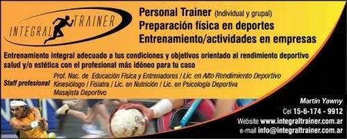Personal trainer - integraltrainer