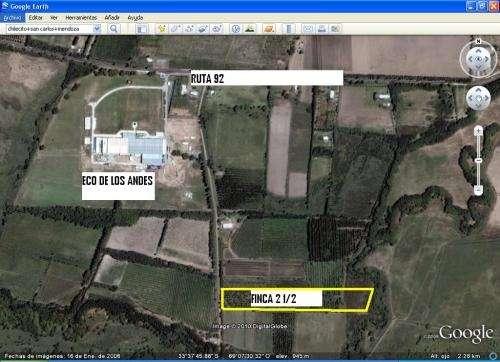 Atencion vendo dos hectareas y media en tunuyan