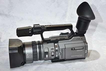 Vendo camara sony minidv vx2000 3ccd con gran angular