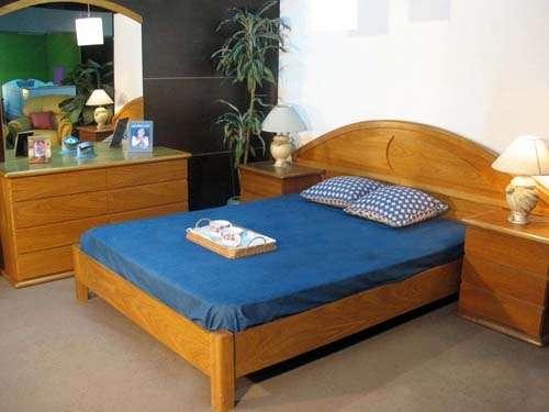 Dormitorio en roble en Buenos Aires - Muebles | 414788