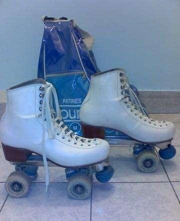 Vendo patines artisticos para salto 800