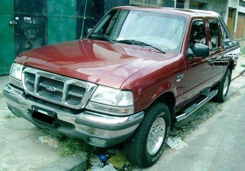 Vendo ford ranger 4x4 mod.98 d/cabina nafta