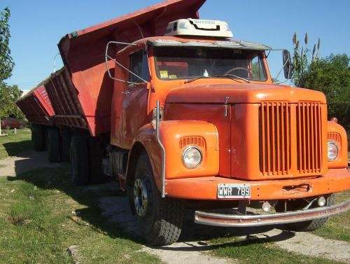 Scania 111 mecanica 113 camion y acoplado