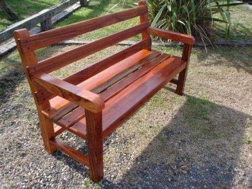 Bancos y mesas en maderas duras en Buenos Aires - Muebles | 427325