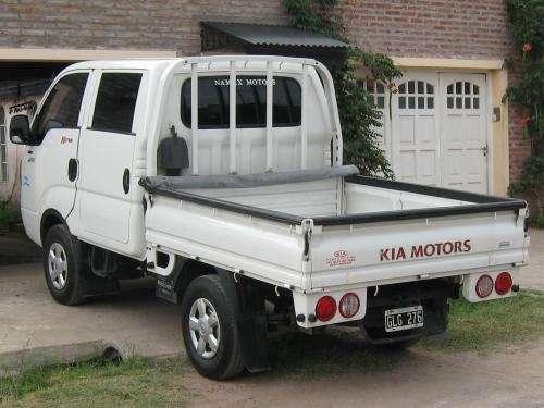 Kendo kia 2700 4x4 doble cabina con aa.cc. 56000 km reales