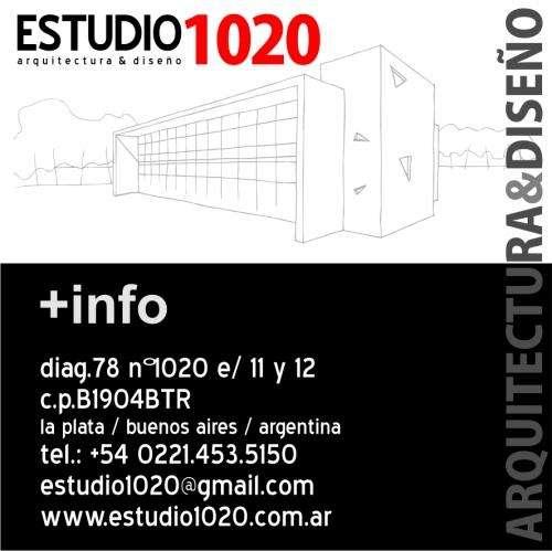 Estudio 1020 - arquitectura & diseño