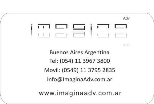 Carteles grafica letras corporeas impresiones imagina adv en Capital ...