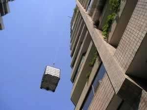 Trabajos con soga, muebles por balcón, 11.6629.2391