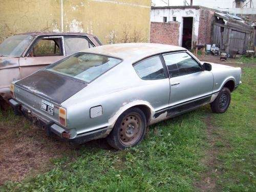 Coupe ford taunus gt-sp