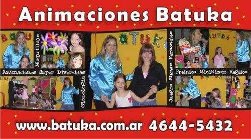 Animaciones infantiles villa crespo | te:4644-5432 | batuka