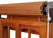 Reparación de cortinas de madera