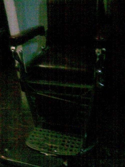 Oferta sillon antiguo peluquero boston americano