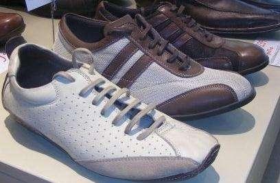 Zapatillas de cuero 4328-0396