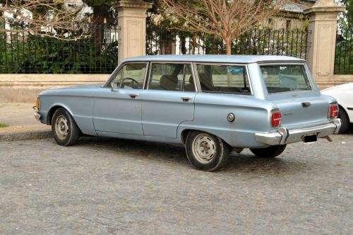 Ford falcon rural diesel standard modelo 1981