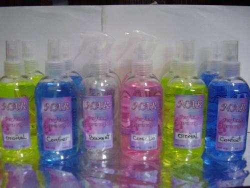 Perfume para la ropa y ambiente 1litro: $ 18 - 5 litros: $ 80 ( 1 aroma)