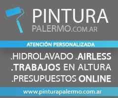 ::: pinturapalermo.com.ar ::: trabajos de altura, impermeabilización, hidrolavado, airless, restauración de balcones, albañileria, fachada