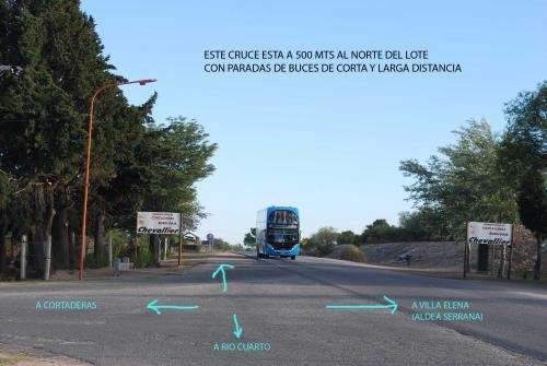 Dueño vende urgente terreno 2000m2 cortaderas (san luis)