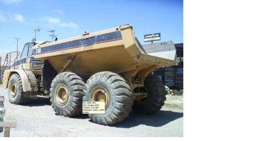 Camiones mineros caterpillar 740e año 2005