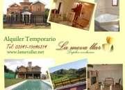 Casa de categoria alquiler en Sierras de Cordoba Dueño