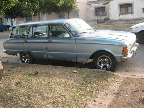 Ford falcon rural std