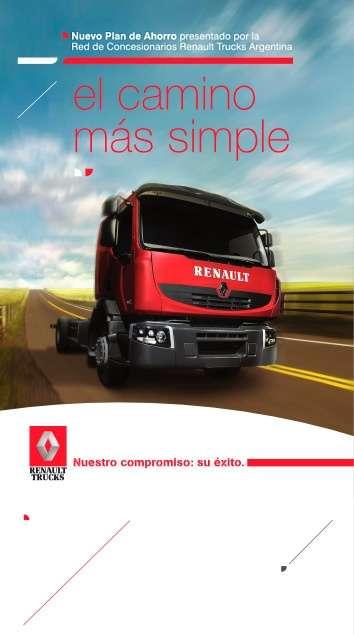 Camiones renault - nuevo plan de ahorro - plan route