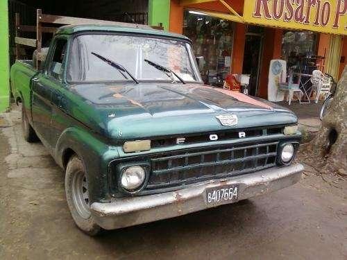 Vendo ford f100 mod 65