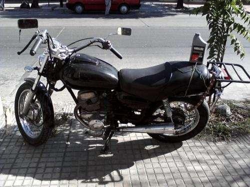 Vendo moto honda twinstar 200