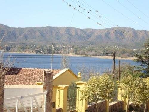 Terreno en carlos paz, en venta, vista al lago