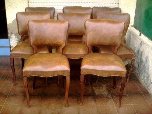 Oportunidad- vendo 8 sillas estilo frances