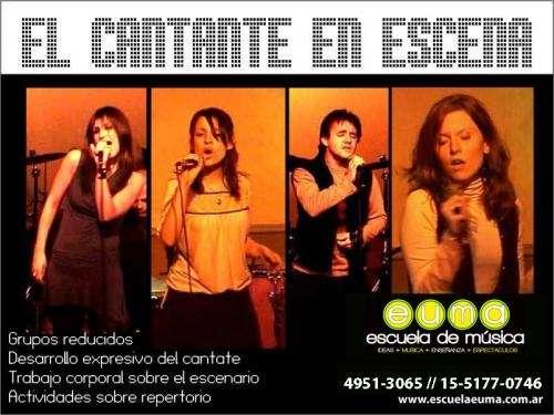 Escuela euma - clases de canto 2010