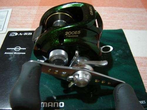 Reel shimano curado 200e5, nuevo en caja !!!!!!