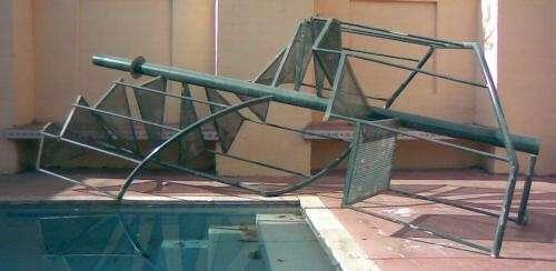 Escalera caracol de hierro en Córdoba - Otros Artículos   478460.