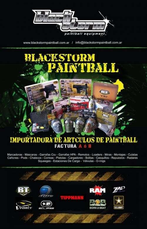 Paintball blackstorm - articulos de paintball