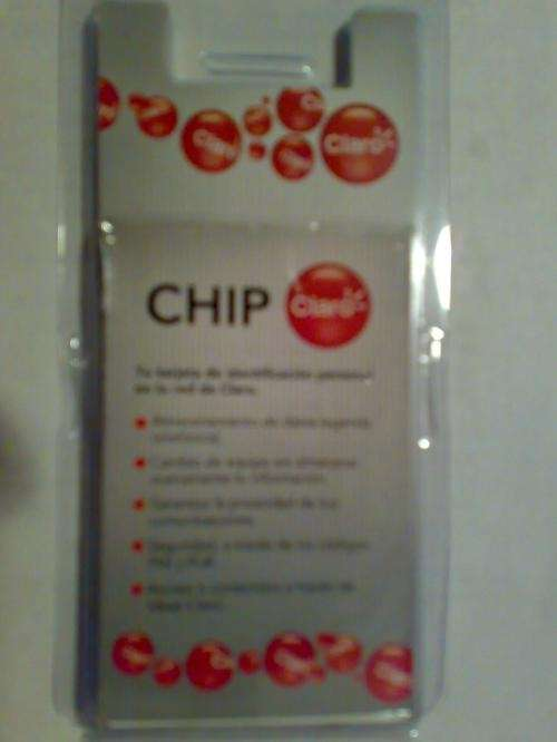 Chips claro personal y movistar $2 por mayor