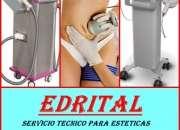 IPL CAVITACION LASER SERVICIO TECNICO EDRITAL