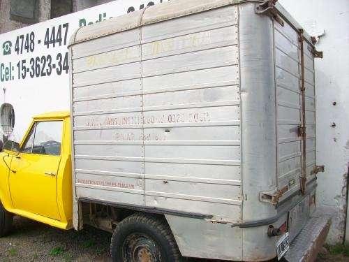 Vendo rastrojero diesel mod 1977 con caja termica
