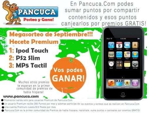Ganate ipod touch ps2 slim mp5 táctil pancuca