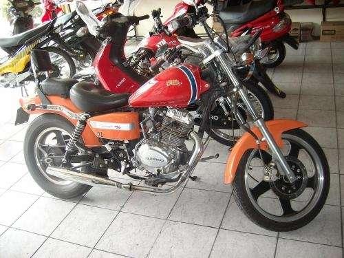 Vendo moto chopper guerrero gmx 150 cc 2005