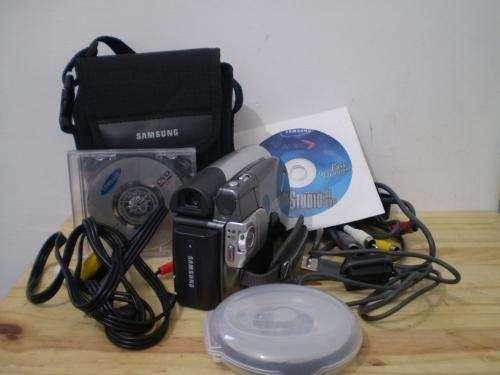 Filmadora samsung digital cam sc-dc163 ¡¡10 dvds de regalo!!
