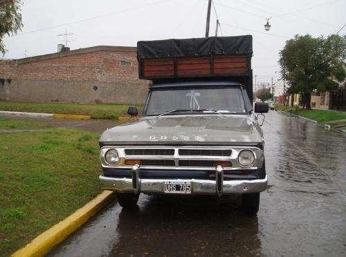 Dodge 100,gnc,caja mudanzera,muy muy buena!!!.permutaria x auto!!!!!