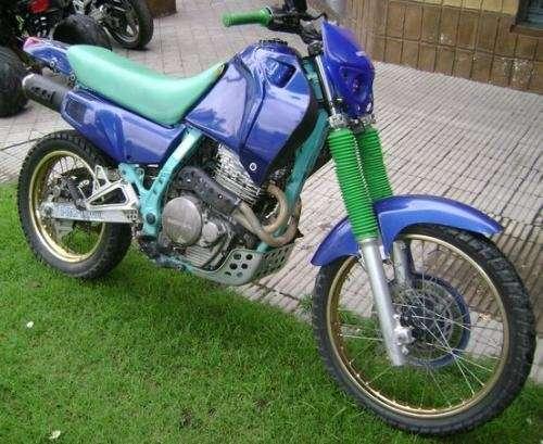 Sport moto: honda nx 650 dominator 1992 japonesa personalizada