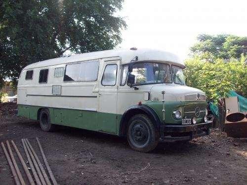 Motor home. mercedes benz. modelo 69 (1112).