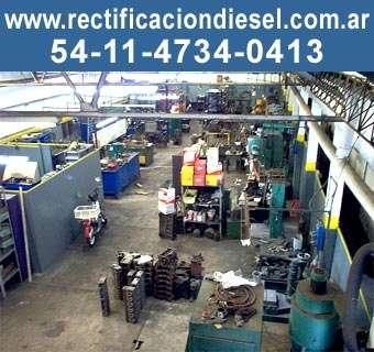 Rectificacion de motores diesel nafreros armado de motor
