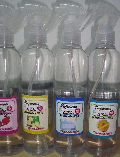 Perfume para ropa x 250 cc.c/atomizador