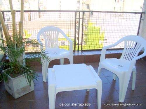 Fotos de Luminoso alquiler temporario estudio balcon wifi congreso semana us$200 mes us$5 4