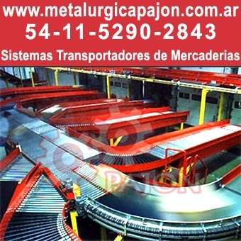 Fabrica de cintas transportadoras de mercaderia sistemas transportadores