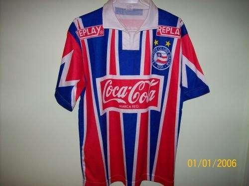 Camiseta futbol sport club bahia (brasil)