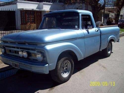 Ford f 100 m 1961 disel direc. hidraulica caja 4 ta