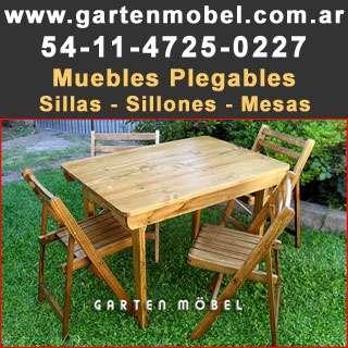 Fotos de Fabrica de muebles de jardin mesas plegables muebles 4
